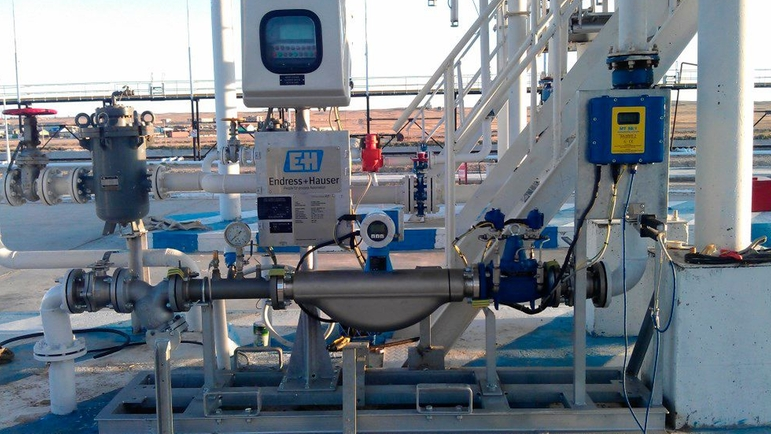 Standardized Liquefied petroleum gas (LPG) truck loading metering system